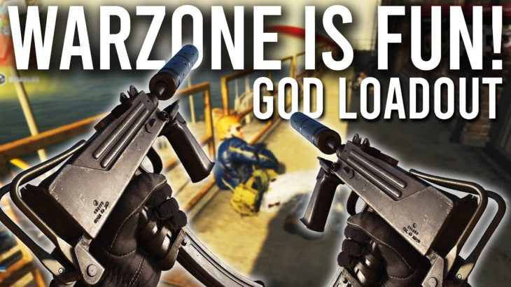 COD Warzone is fun again with the GOD Loadout!