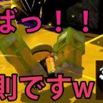 【スプラトゥーン2】まじ最強!強すぎるのでこのブキは使用禁止ですね。【切り抜き】