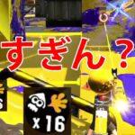 【スプラトゥーン2】リッター4k最強!これ見て!やばいよ?【切り抜き】