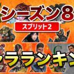【APEX LEGENDS】シーズン8(スプリット2)キャラランキング!!【エーペックスレジェンズ】