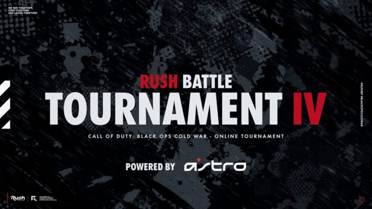 【COD:BOCW】Rush Battle Tournament Ⅳ Day1