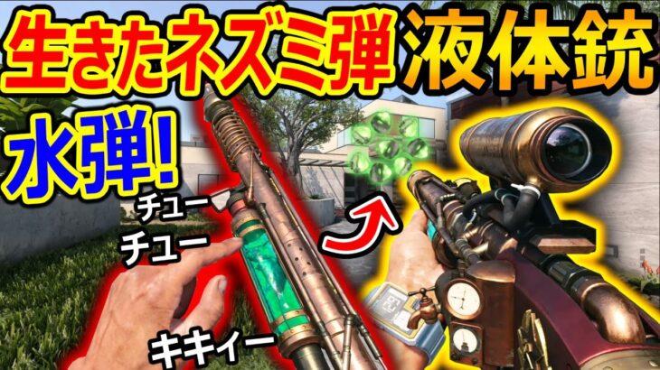 【CoD:BOCW】生きたネズミが水弾になる液体銃!!『特殊サイト付き!! アイアンサイトはゴミカスw』【実況者ジャンヌ】
