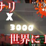 圧倒的ルール関与でアサリXP3000到達!【スプラトゥーン2】