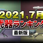 【最新版】7月のガチヤグラブキ使用率ランキング!【スプラトゥーン2】【初心者】