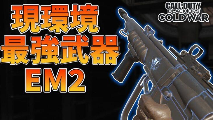 【COD:BOCW】今はこの武器使ってれば間違いない!!現環境最強武器『EM2』が強すぎる!【はんてぃ / Rush Gaming】